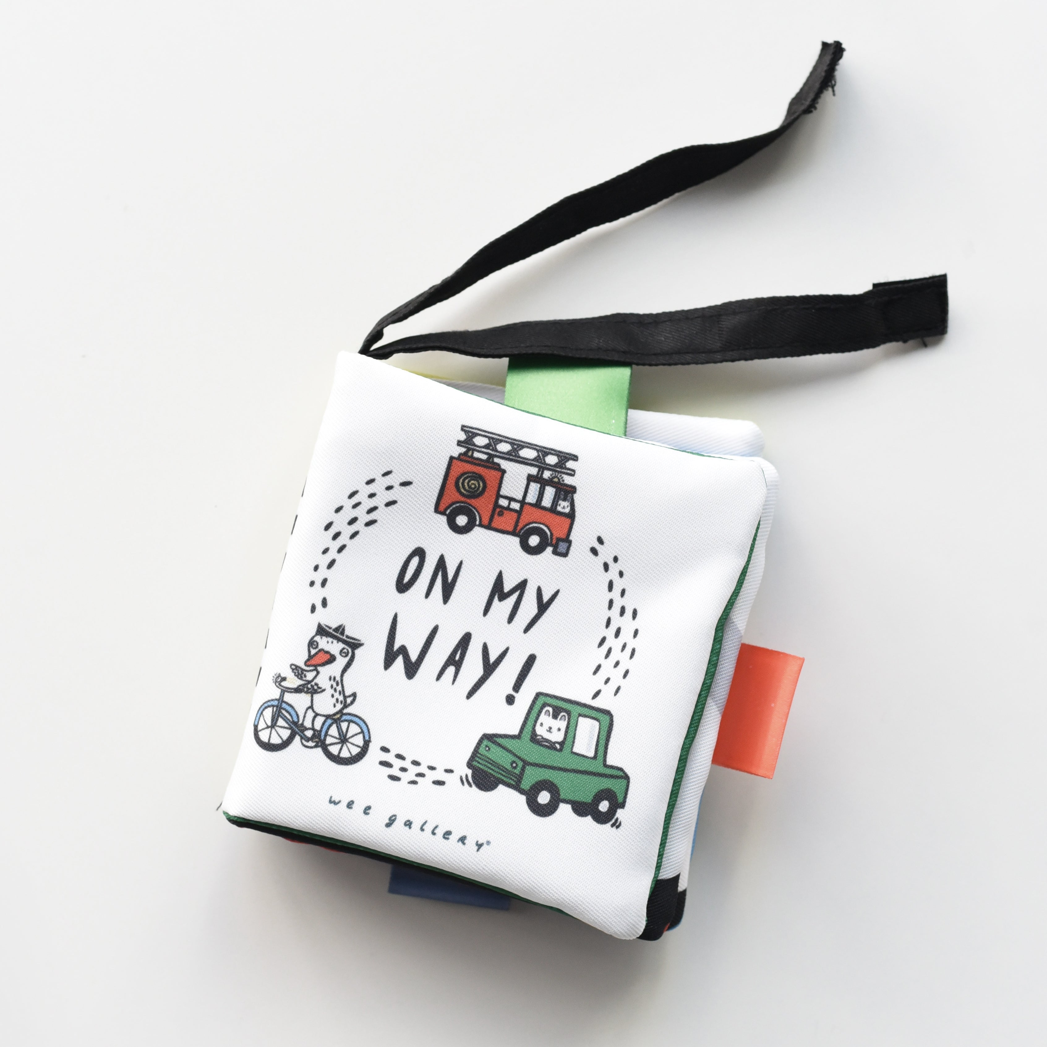 Wee Gallery Buggy Book - On My Way - The Mango Tree