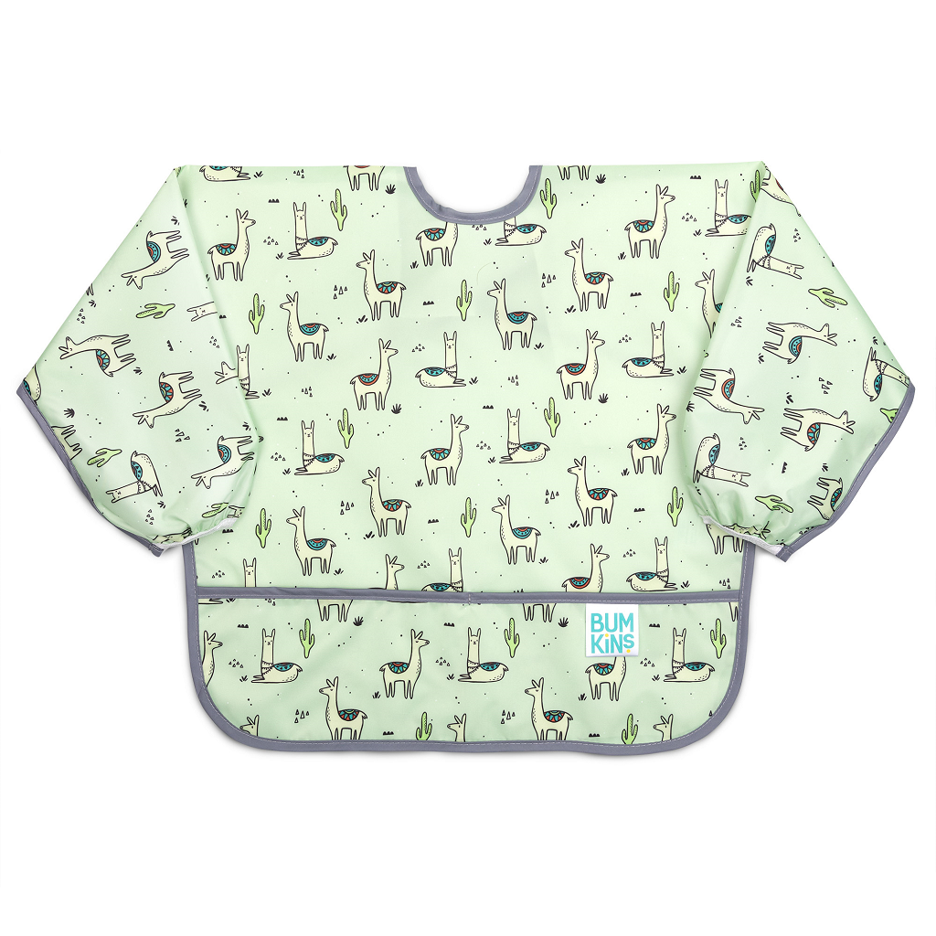 BumKins Llama Sleeved Bib - The Mango Tree