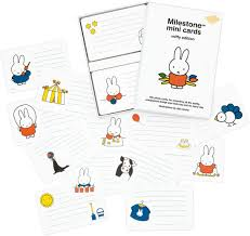 Milestone Mini Cards Miffy Edition - The Mango Tree