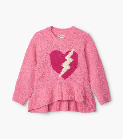 Hatley Sequin Bolt Ruffle Hem Pullover - The Mango Tree
