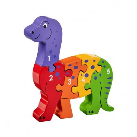 Lanka Kade Dinosaur 1-5 jigsaw - The Mango Tree