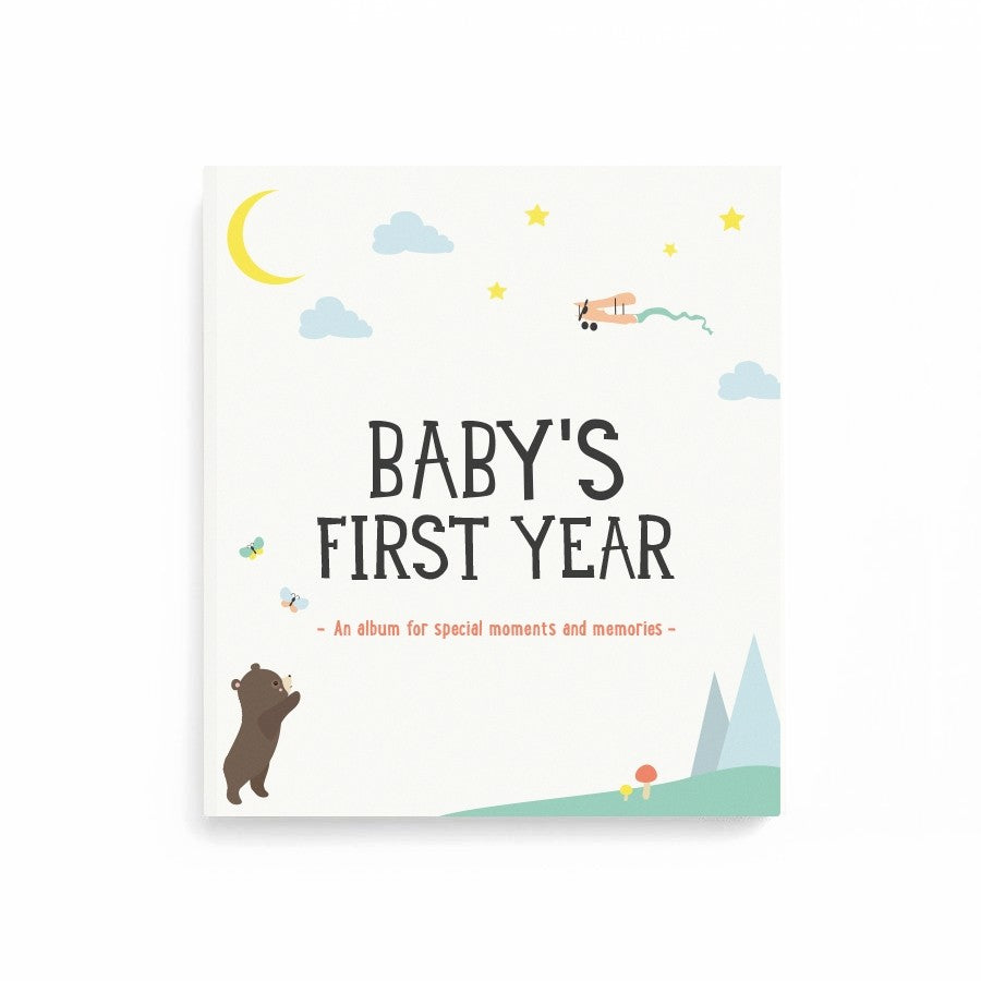 Milestone Baby's First Year Album - The Mango Tree
