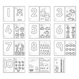 Orchard Number Colouring Book - The Mango Tree