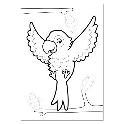 Orchard Animals Colouring Book - The Mango Tree