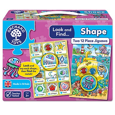 Orchard Look and Find... Shape Jigsaw - The Mango Tree