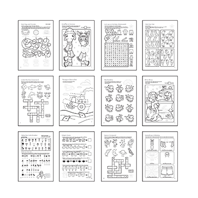 Orchard More Things To Do Colouring Book - The Mango Tree