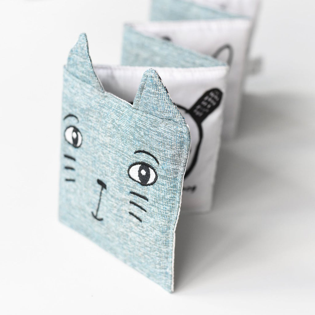 Soft Cloth Book - Cat - The Mango Tree