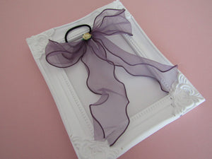 Beautiful Organza Bow Hair ties for women