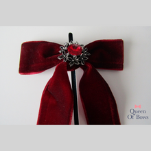 Load image into Gallery viewer, Velvet hair bows for women and girls