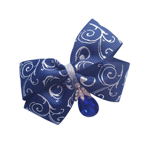 Bollywood style ribbon boutique bows in various colours