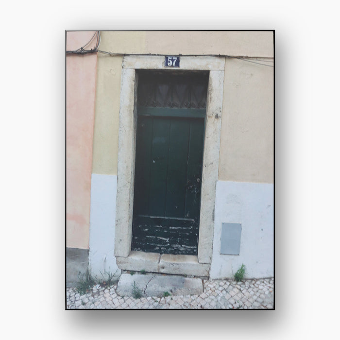 A Door in Lisbon (Private Collection)