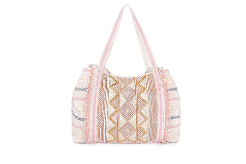 Rose Gold Tote Bag - Half Past Three Clothing