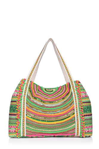 Tropical Paradise Tote Bag - Half Past Three Clothing