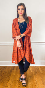 FREIDA midi kimono - Half Past Three Clothing