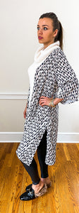 FAWNA midi kimono - Half Past Three Clothing