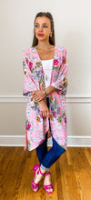 Load image into Gallery viewer, FARRAH midi kimono - Half Past Three Clothing