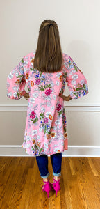 FARRAH midi kimono - Half Past Three Clothing