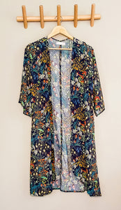 FLORA midi kimono - Half Past Three Clothing