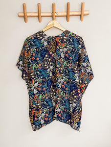 FLORA shorty kimono - Half Past Three Clothing