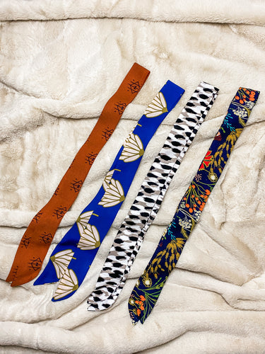FANCY skinny headwraps - Half Past Three Clothing