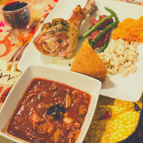 Imbue Lifestyle - This years' pescatarian and carnivorous holiday dinner