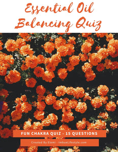 Essential Oil Balancing Quiz