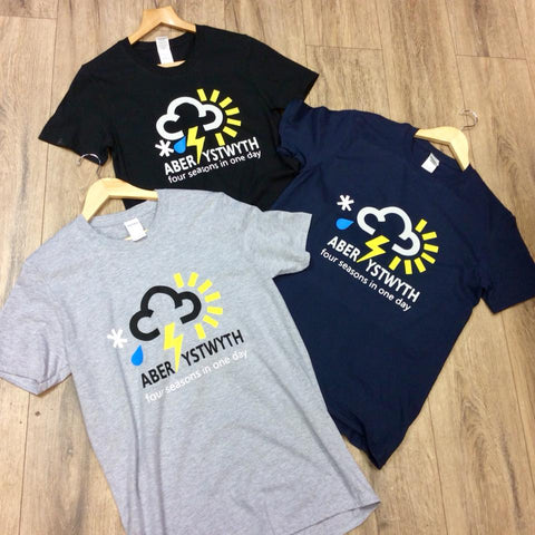 Aberystwyth Four Seasons In One Day T-Shirt