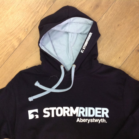 Stormrider Contrast Hoodie Jet Black (Heather Grey)