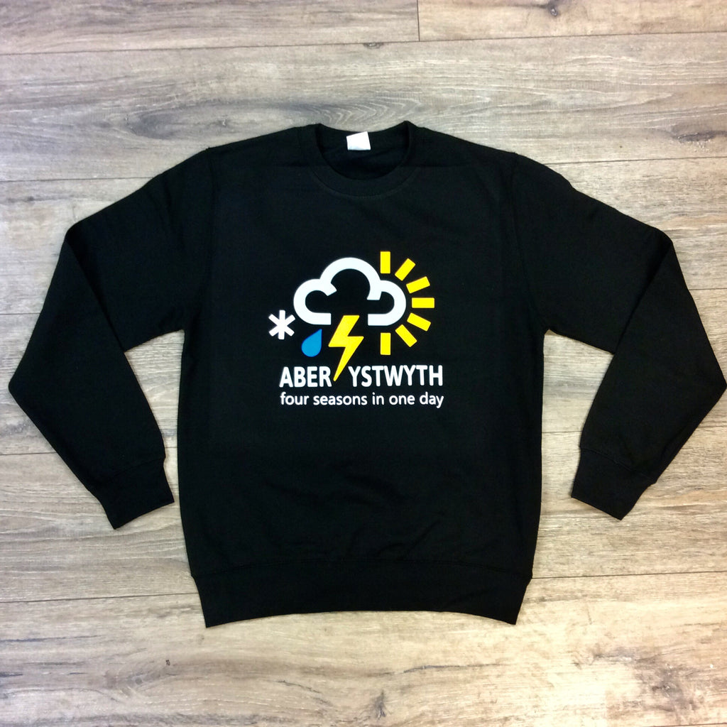 Aberystwyth 'four seasons in one day' sweatshirt