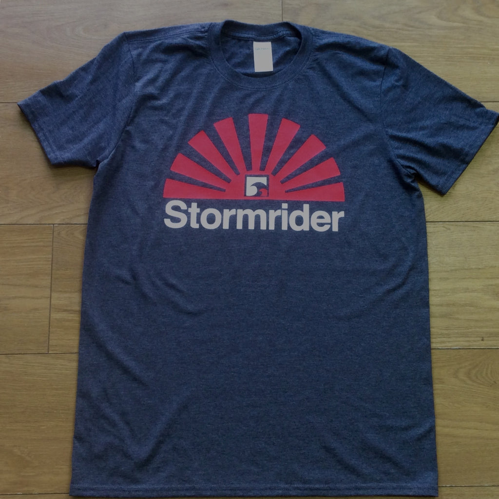 Stormrider Sunset T-Shirt Heather Navy
