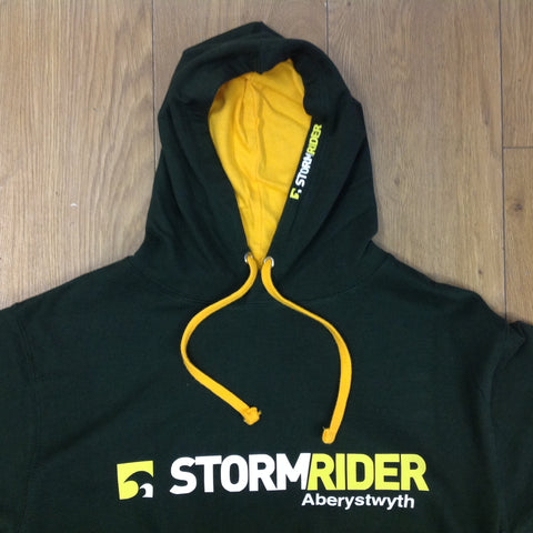 Stormrider Contrast Hoodie Forest green