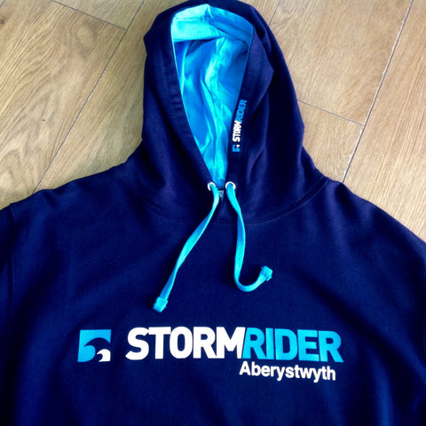 Stormrider Contrast Hoodie French Blue