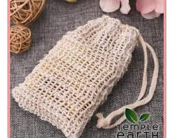 Natural Ramie Soap Bag