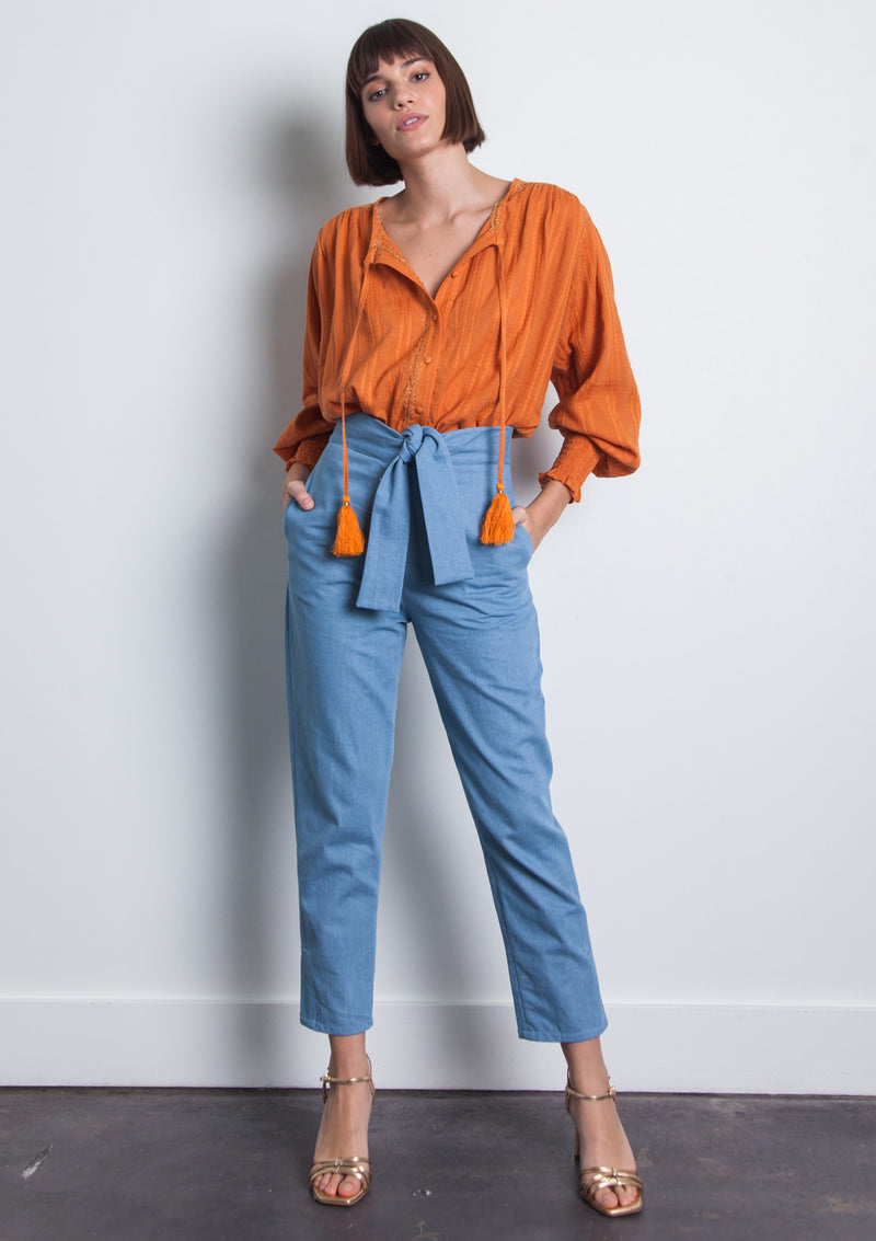 Stella Denim Pants - Denim
