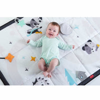 Black & White Super Mat - Dimples Baby Brooklyn