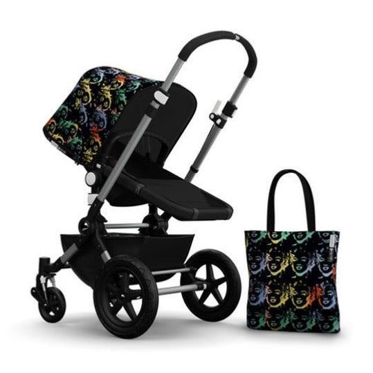 Bugaboo Andy Warhol Canopy and Bag - Dimples Baby Brooklyn
