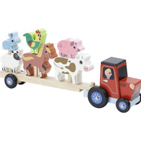Empil' Animo Wooden Farm Animals - Dimples Baby Brooklyn