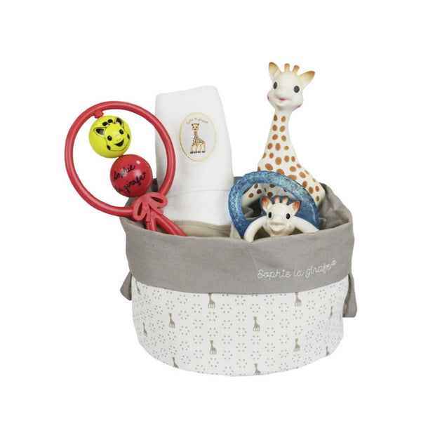 Sophie La Girafe Birth Basket - Dimples Baby Brooklyn