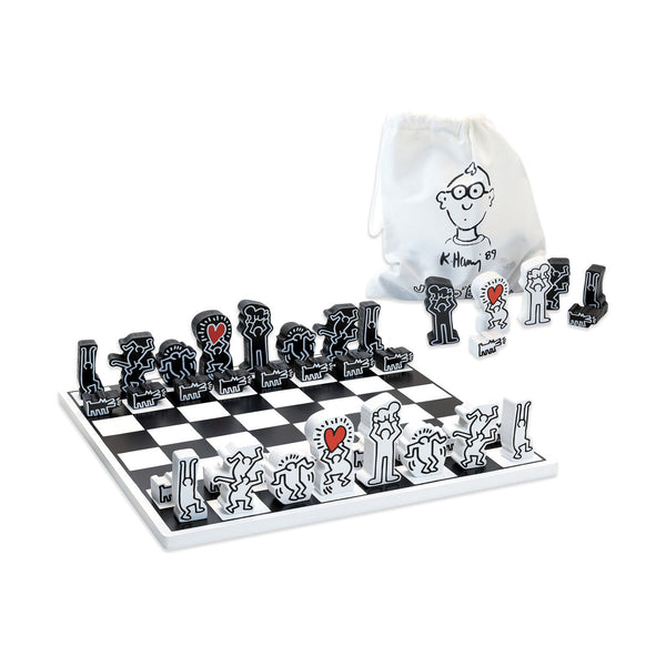 Keith Haring Chess Set - Dimples Baby Brooklyn
