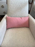Monte Pillow - floor sample pink/charcoal - Dimples Baby Brooklyn