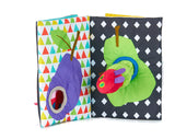 The Very Hungry Caterpillar Soft in and Out Book and Stuffed Plush Toy - Dimples Baby Brooklyn