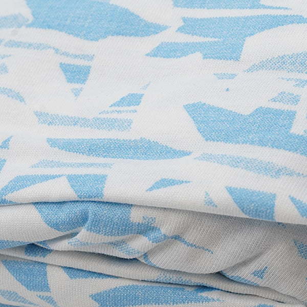 First Essentials Crib Sheet - Blue Star - Dimples Baby Brooklyn