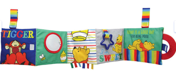Winnie The Pooh Soft Accordion Book - Dimples Baby Brooklyn