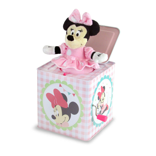Minnie Mouse Jack in the box - Dimples Baby Brooklyn