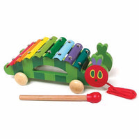 The Very Hungry Caterpilar Pull Along Xylophone - Dimples Baby Brooklyn