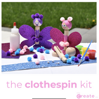 The Clothespin Kit - Dimples Baby Brooklyn