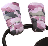 Warmmuffs Camo Pink - Dimples Baby Brooklyn