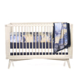 Midnight Sky Crib Sheet - Dimples Baby Brooklyn