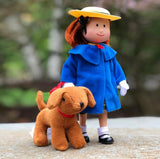 Madeline Poseable Doll with Genevieve soft toy - Dimples Baby Brooklyn