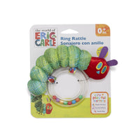 The Very Hungry Caterpillar Ring Rattle - Dimples Baby Brooklyn